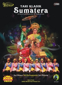 Cover Album DVD Tari Klasik Sumatera