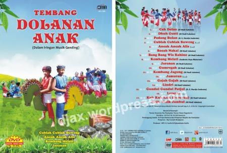 DVD Tembang Dolanan Anak produksi GNP