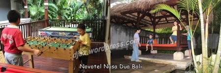 Bali Stopover, enjoying time with our family at Novotel Nusa Dua